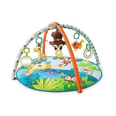 Bright Starts Monkey Business - Alfombras de juego y gimnasios, unisex: Bebé