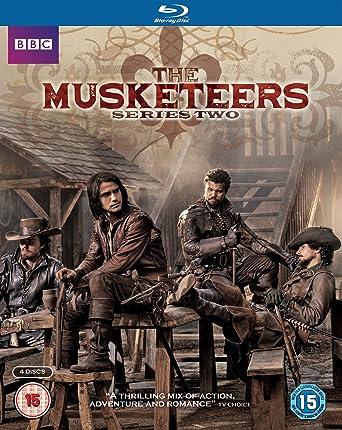 Musketeers: Santiago Cabrera, Tamla Kari, Luke Pasqualino, Ryan Gage