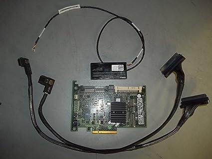 Dell Poweredge R710 PERC 6i 6/I SAS RAID Controller w/ BBU, 2x TK035 ___  T954J
