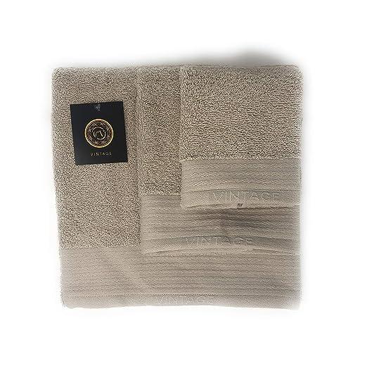 Cabetex Home - Juego de Toallas Lisas 100% Algodón de 450 Gr/m2 ...