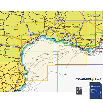 Navionics Plus Small MicroSD/SD Golfo de Leon: Amazon.es ...