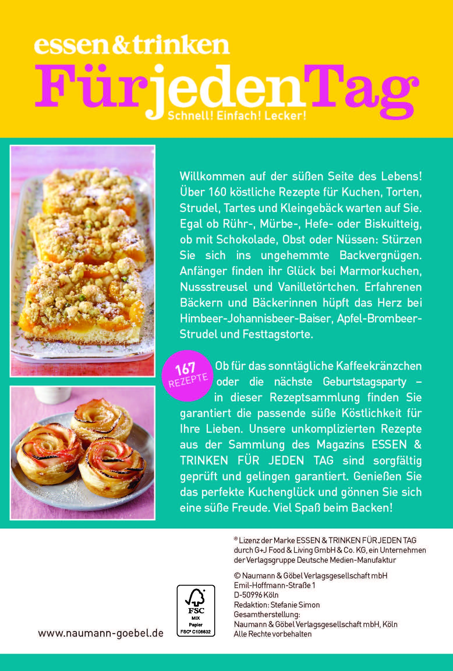 Großzügig Rezepte Schnelle Küche Für Jeden Tag Galerie - Die ...