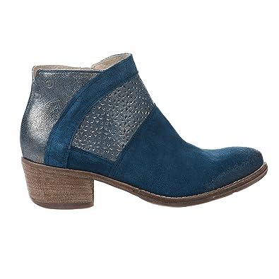 ad18a92333706 Boots femme - KHRIO - Bleu - 2804 - Millim  Amazon.fr  Chaussures et ...
