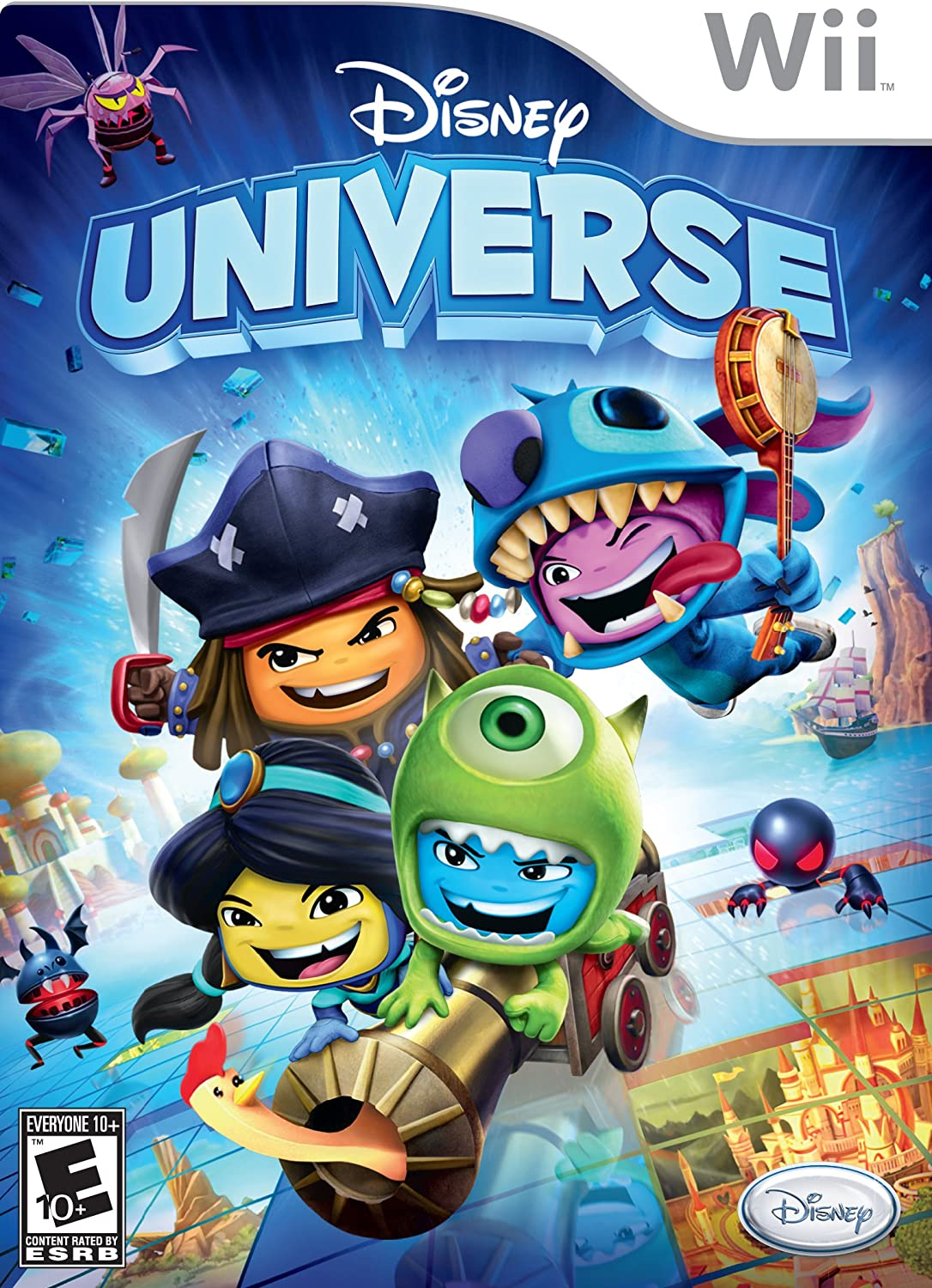 Amazon.com: Disney Universe - Nintendo Wii: Disney Interactive Distri:  Video Games