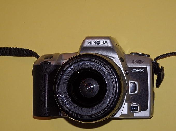 Minolta Dynax 505si Super – SLR Cámara – Cámara réflex analógica ...