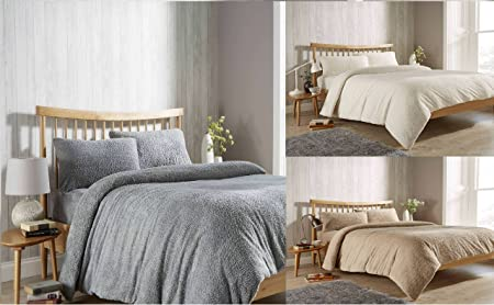 GoldStar® Teddy Fleece Extra Deep Fitted Sheets Cozy Warm Bed Linen Sheet  All Sizes, Double, ...