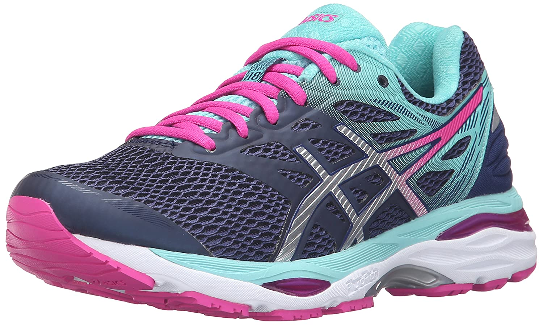 ASICS Women's Gel-Cumulus 18 Running Shoe B017USMRPK 12.5 B(M) US|Indigo Blue/Silver/Pink Glow