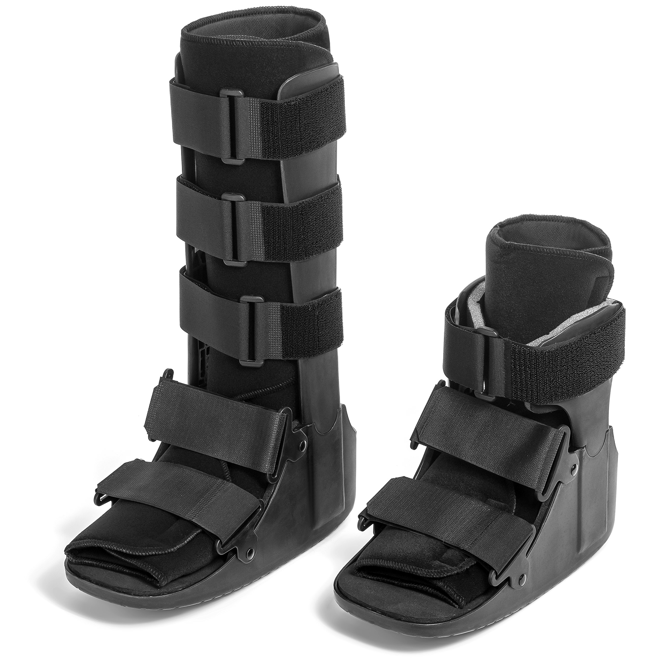 Coreline Fixed Cam Fracture Walker with Plastic Uprights for Sprains and Fractures (Tall - Medium)