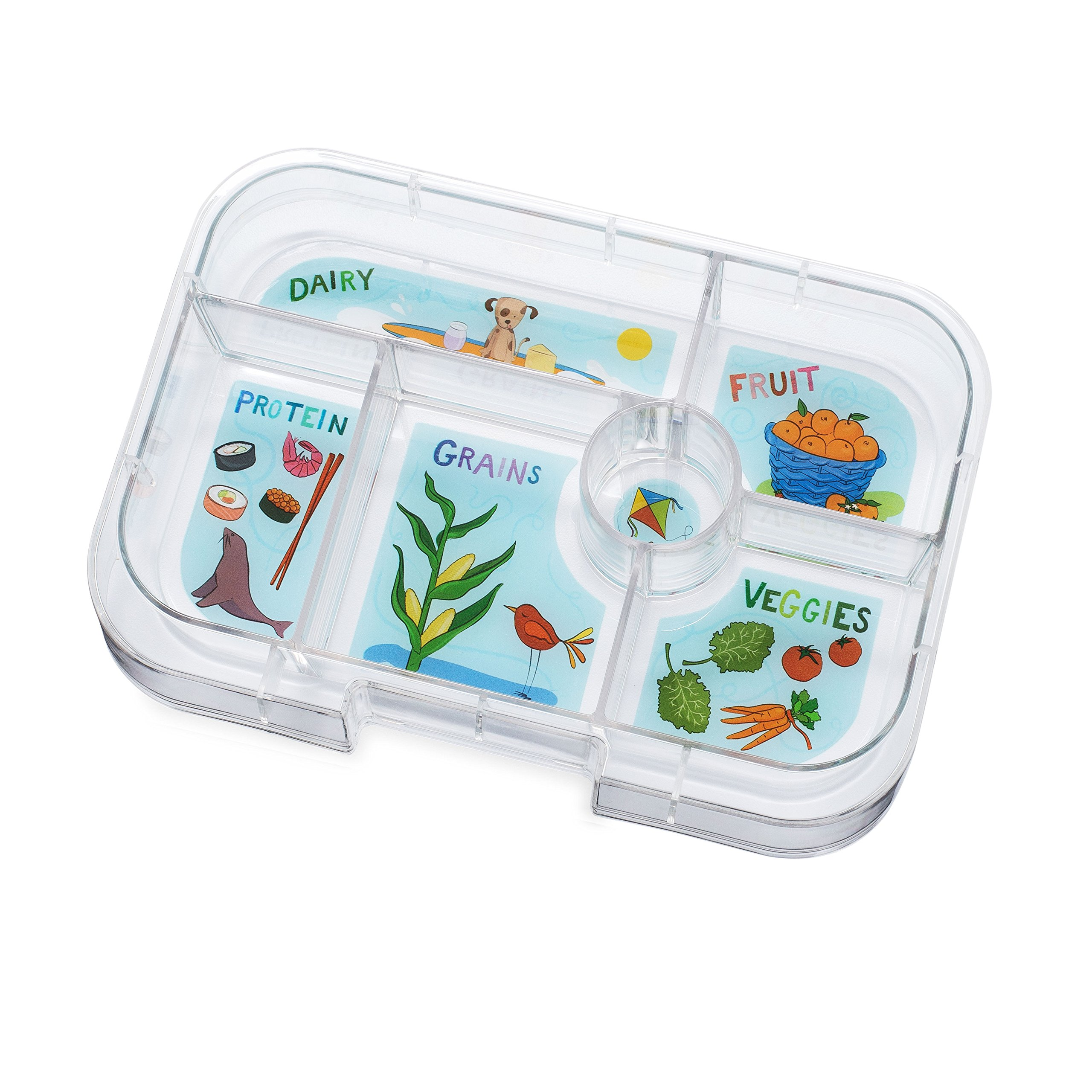 YUMBOX Original (Avocado Green) Leakproof Bento Lunch Box Container for Kids: Bento-style lunch box offers Durable, Leak-proof, On-the-go Meal and Snack Packing by Yumbox (Image #5)