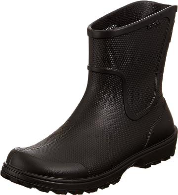 Work Wellie Rain Boot, Black