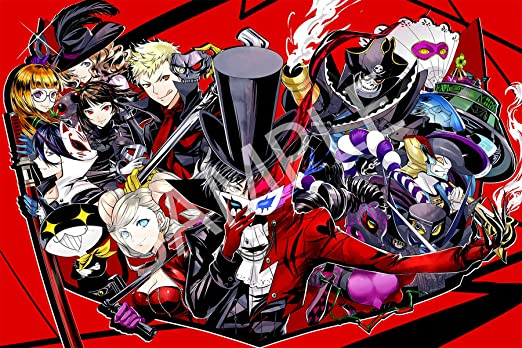High Quality Prints Persona 5 Poster Official Art
