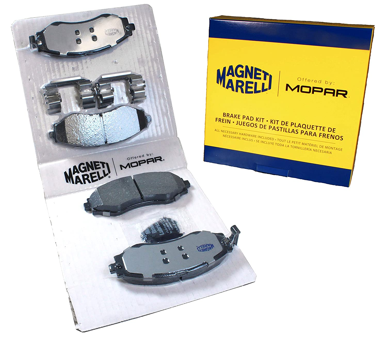 Magneti Marelli by Mopar 1AMV400797 Disc Brake Pad Set