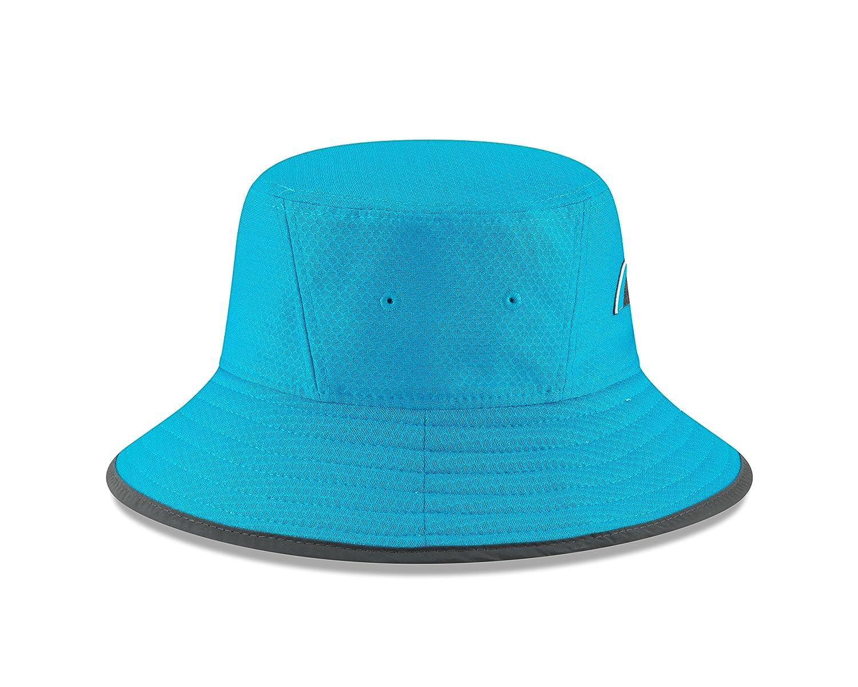 9f983d575 New Era Carolina Panthers Blue 2018 NFL Training Camp Official Bucket Hat   Amazon.co.uk  Clothing