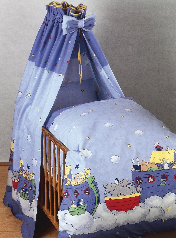 Kindertraum 520872087231 - Juego de cama infantil, diseño de arca de Noé, 40/60 y 100/135 cm: Amazon.es: Bebé