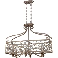 Craftmade 35826-AO 6-Light Linear Chandelier