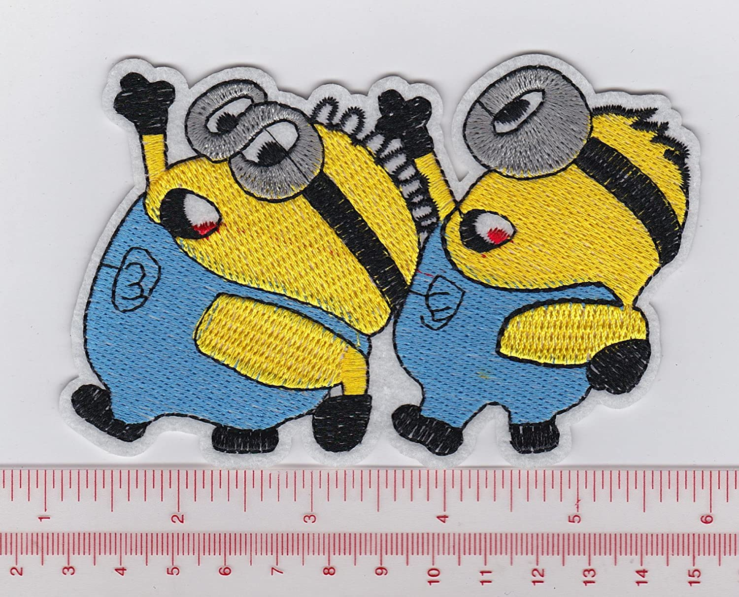 Amazon minions from despicable me iron on patchessew on amazon minions from despicable me iron on patchessew onappliqueembroidered w48 x h3 biocorpaavc Image collections