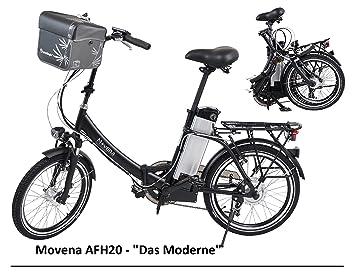 Certificado TÜV y bicicleta eléctrica – 36 V 15 Ah Batería – 20 pulgadas Pedelec –