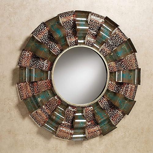 Touch of Class Ryker Wavy Wall Mirror Copper