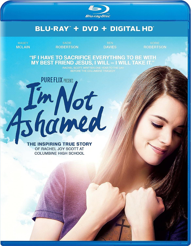 I'm Not Ashamed Blu-ray + DVD + Digital