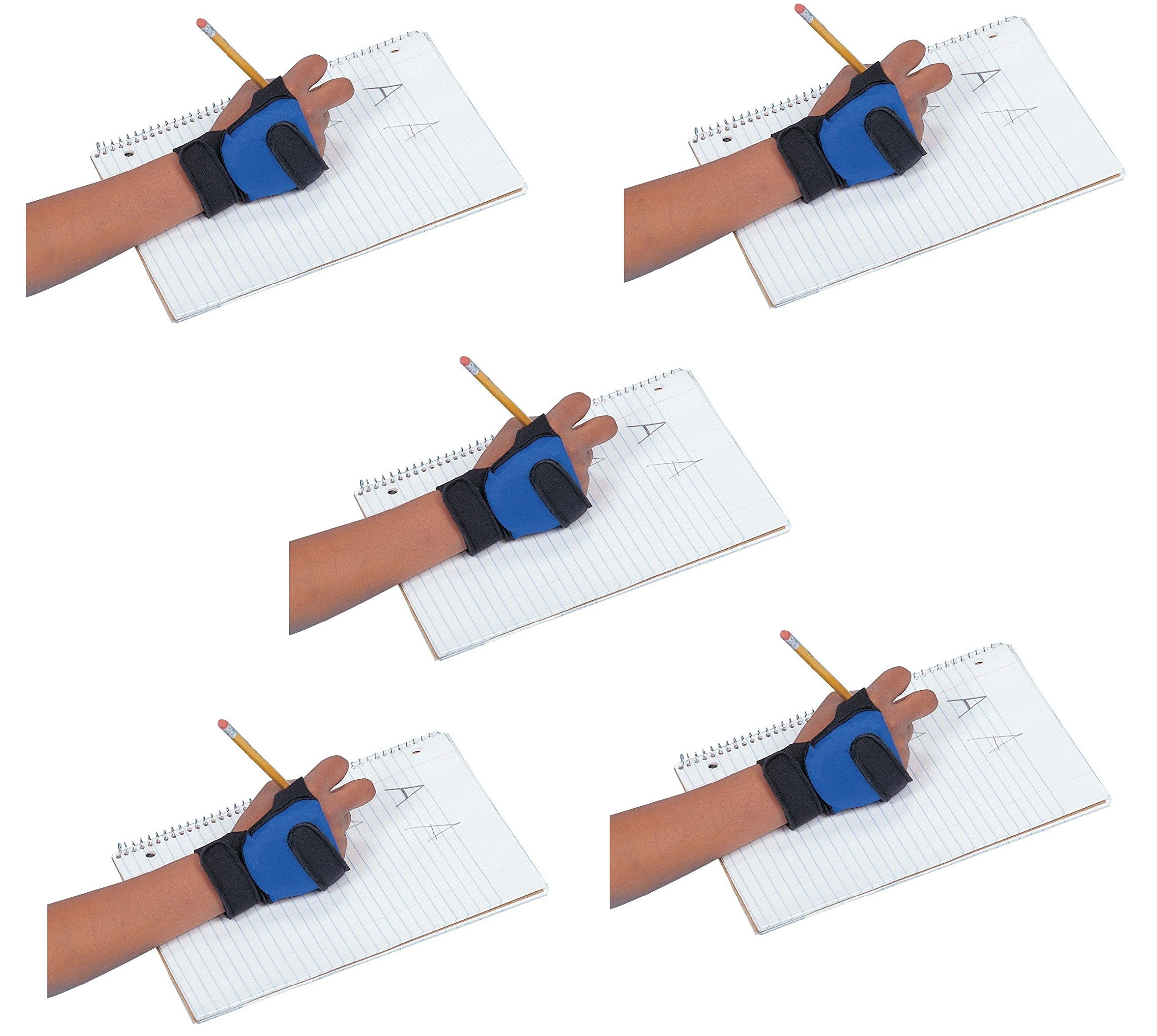 Abilitations 026712 Child Size Write Weight, Right Hand, 0.5 Pound (5 pack)