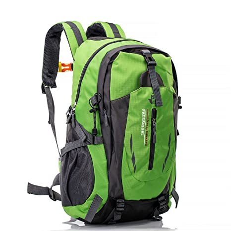 Sports & Entertainment Provided Waterproof Nylon Outdoor Breathable Mountaineering Bag Diamond Lattice Folding Backpack Wear Shoulder Bag Camping & Hiking