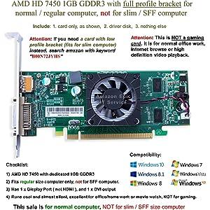 AMD Radeon HD 7450A Display Driver (2019)