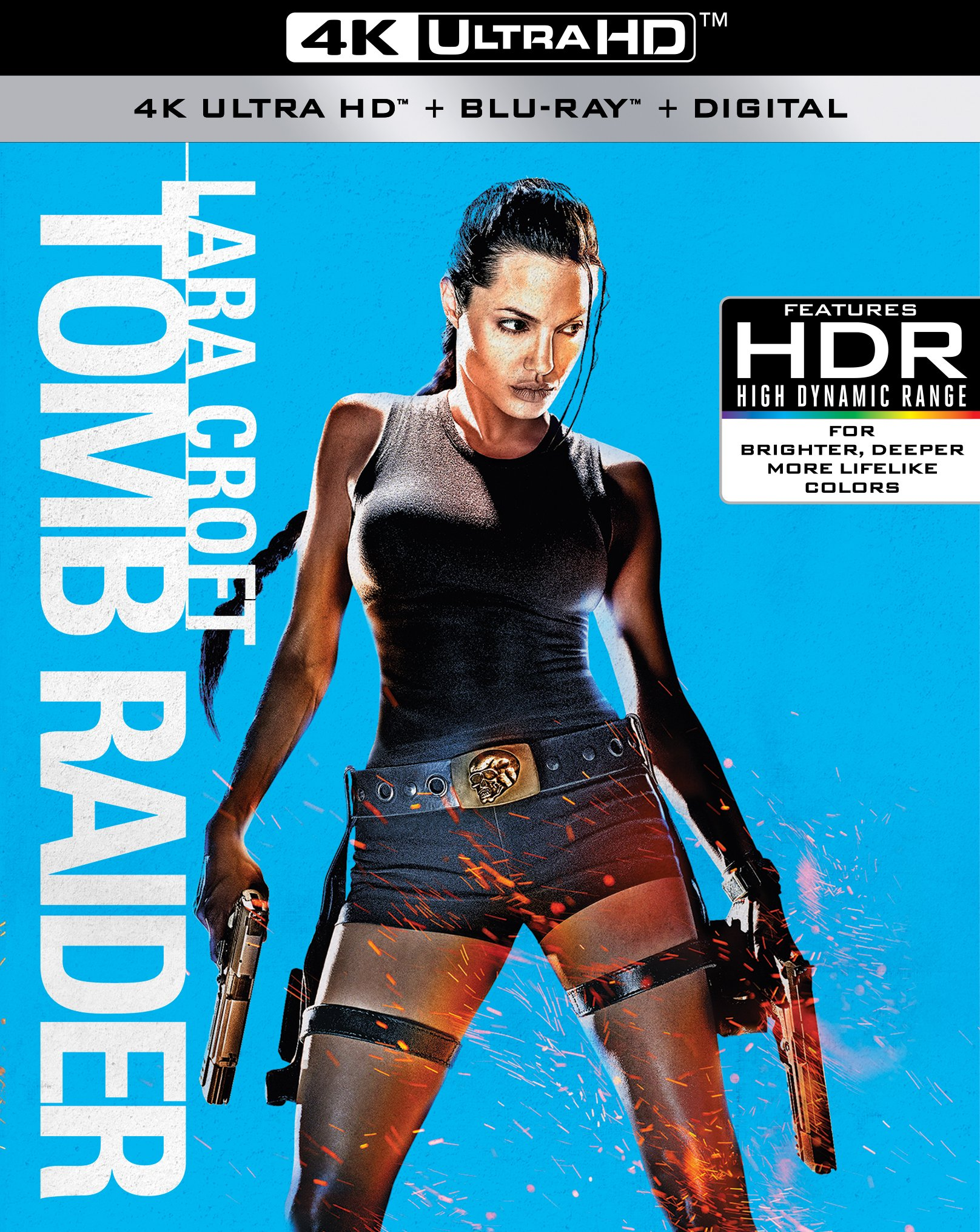 4K Blu-ray : Lara Croft: Tomb Raider (4K Mastering, Widescreen, Amaray Case, 2 Pack, Dubbed)