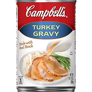 Campbell's Gravy,  Turkey, 10.5 oz. Can (Pack of 12)