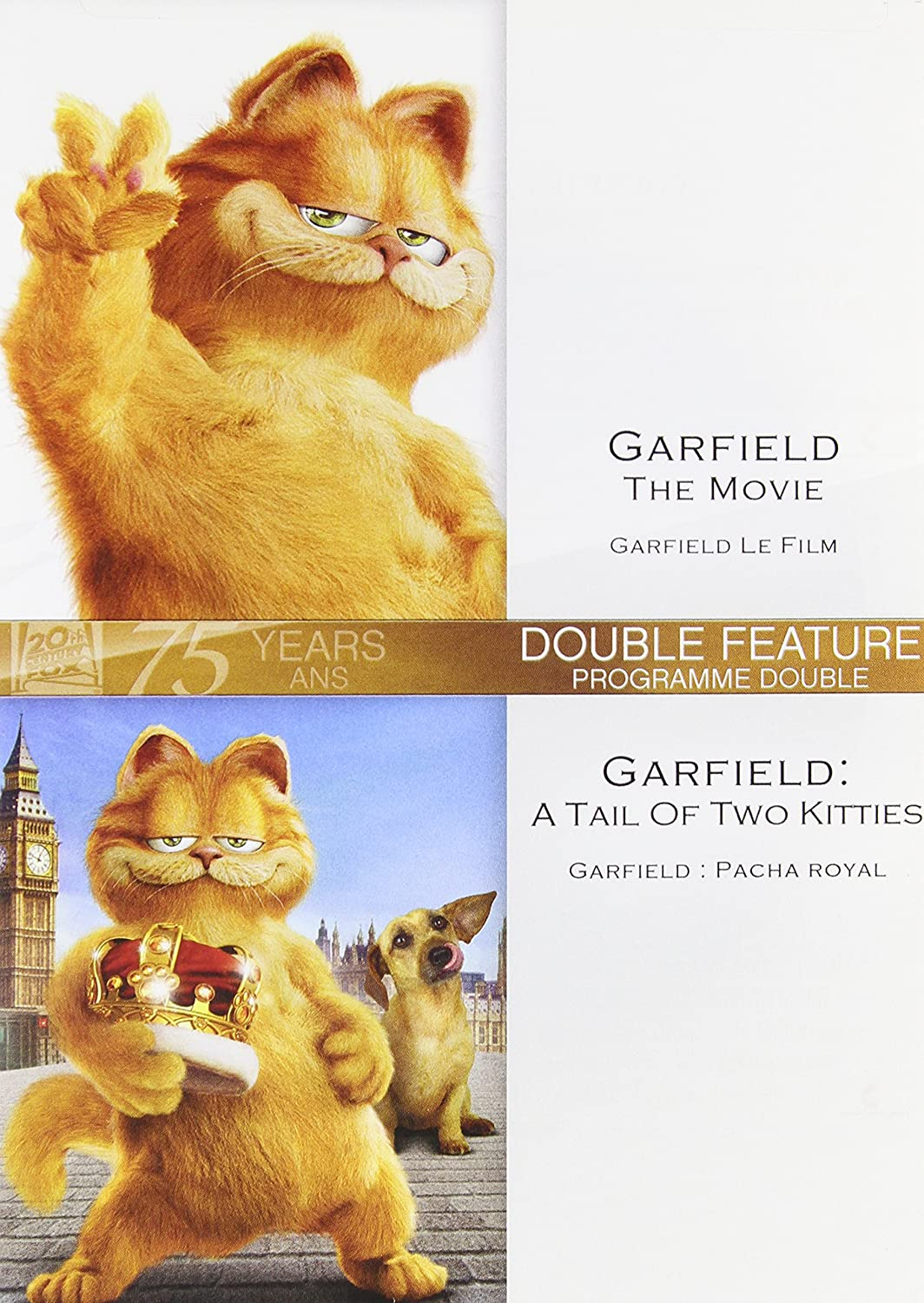 Back to previous page home garfield holiday celebrations - Garfield Double Feature Garfield The Movie Garfield A Tale Of Two Kitties