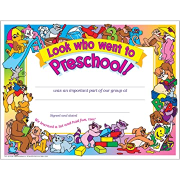 .com : hayes school publishing h-va499 - certificates pre ...