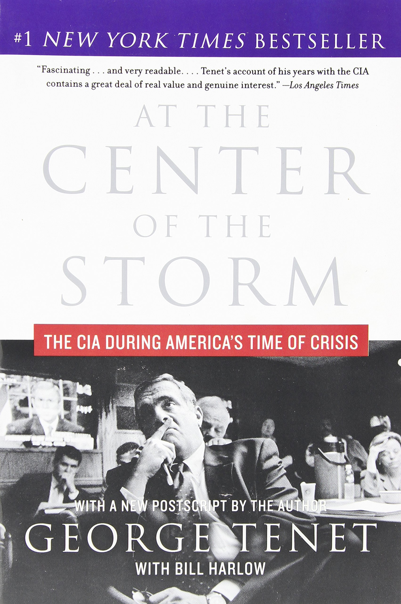 Read Online At the Center of the Storm: The CIA During America's Time of Crisis pdf