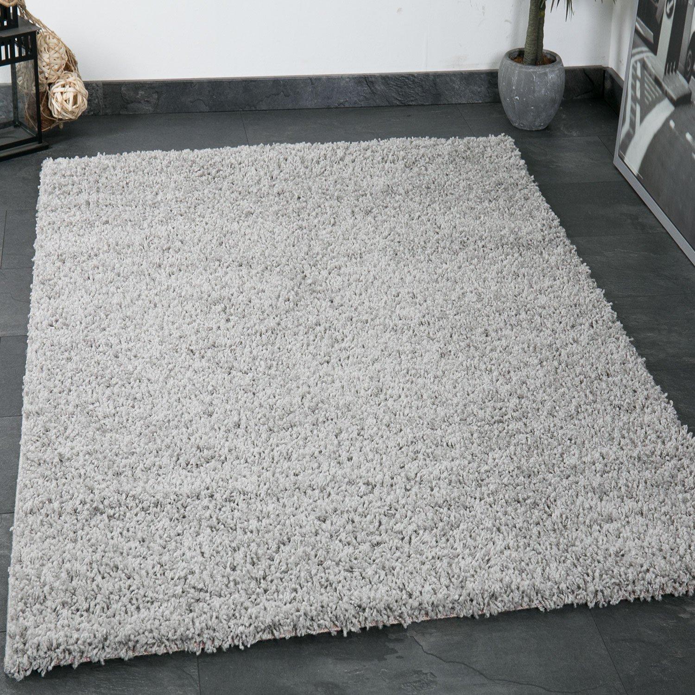 VIMODA Prime Prime Prime Shaggy Teppich Grau Hochflor Langflor Teppiche Modern für Wohnzimmer Schlafzimmer Einfarbig, Maße 300x400 cm B01FWXK770 Teppiche 82886b