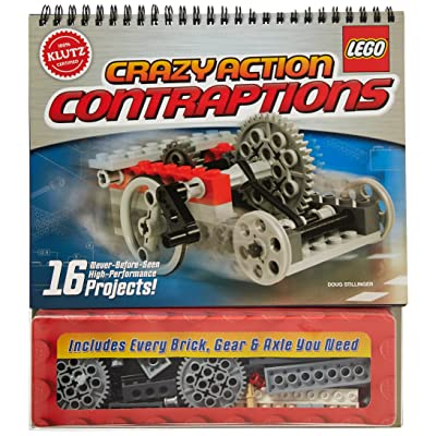 Klutz LEGO Crazy Action Contraptions Craft Kit: Doug Stillinger: Toys & Games