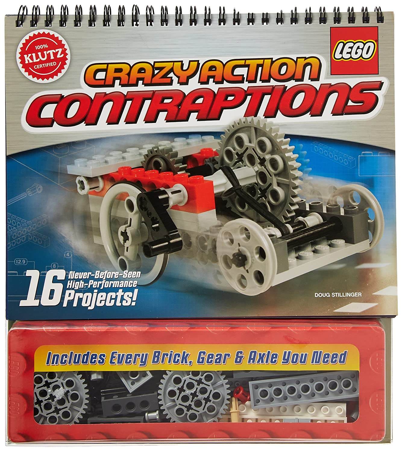 Klutz Lego Crazy Action Contraptions Craft Kit Doug Snap Circuits Jr With 100 Projects Sc100 Stillinger Toys Games