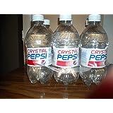 Crystal Pepsi Bottles 16 oz, Pack of 6