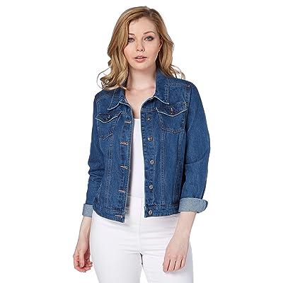 Jeans Roman Pour Originals Femme Veste Jean En Blouson Denim NOkXnP8Z0w