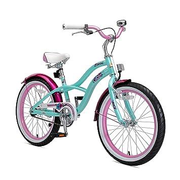 información para primera vista lo último BIKESTAR Bicicleta Infantil para niños y niñas a Partir de 6 años | Bici 20  Pulgadas con Frenos | 20
