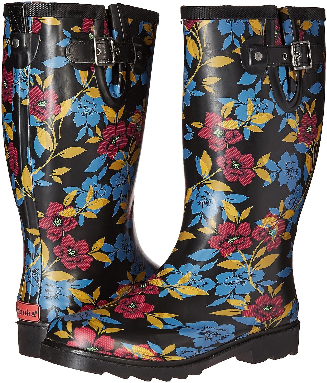 Chooka Women's Tall Rain Boot B01BUEPLCQ 6 B(M) US Bohemian Night