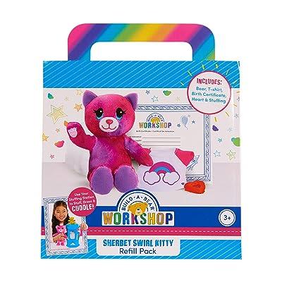 Build A Bear Refill Plush Rainbow Tiger: Toys & Games