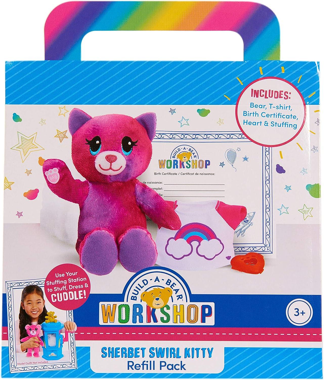 Build A Bear Refill Plush Rainbow Tiger, Multi-Color (74067)
