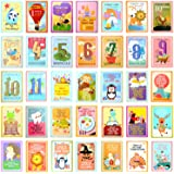 Suvybaby Milestone baby cards, Set of 36 Illustrated Landmark Moments Photo Cards, Perfect Baby Shower Gifts, New Baby Gifts and Baby Presents