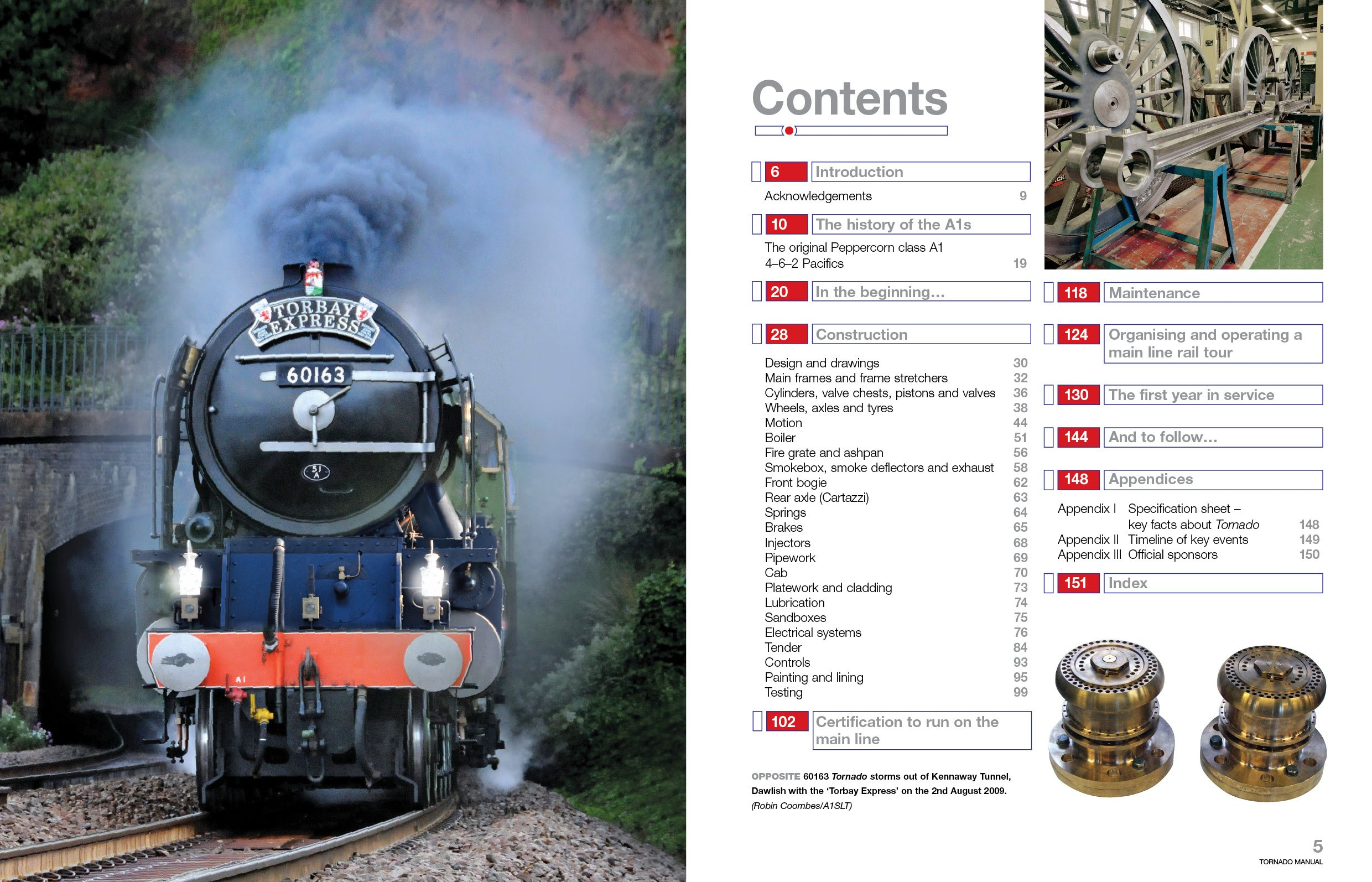 Tornado Manual: New Peppercorn Class A1 Locomotive (Owner's Workshop Manual)  (Haynes Owners Workshop Manuals (Hardcover)): Amazon.co.uk: Geoff Smith: ...