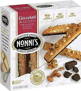 product image for Nonni's Biscotti Cioccolati 8 ct (Pack of 12)