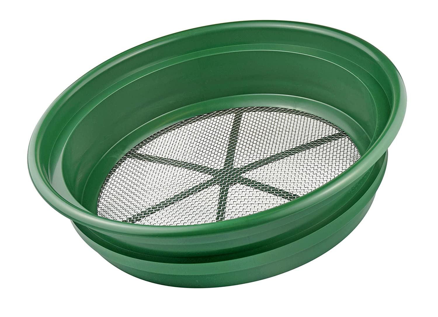 SE GP2-18 Sifting Pan(Mesh Size: 1/8-Inch, Wire Thickness: 0.6mm)