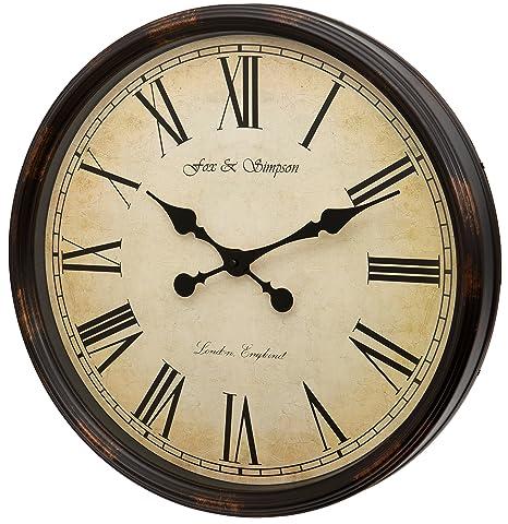 Fox and Simpson Reloj de Pared Extragrande, Diseño de Grand Central Station, DE 50