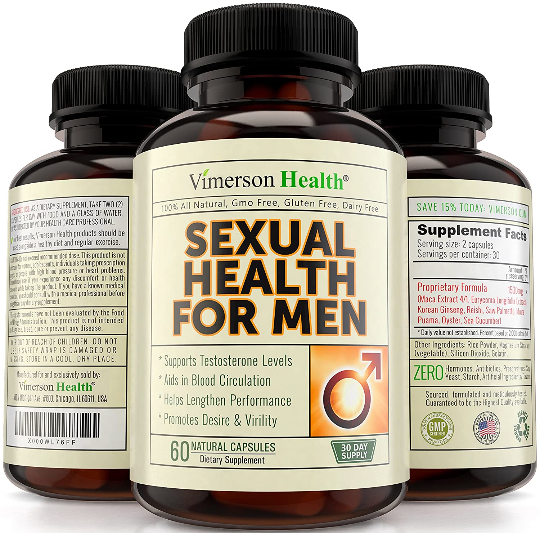 Natural safe male sex enhancer