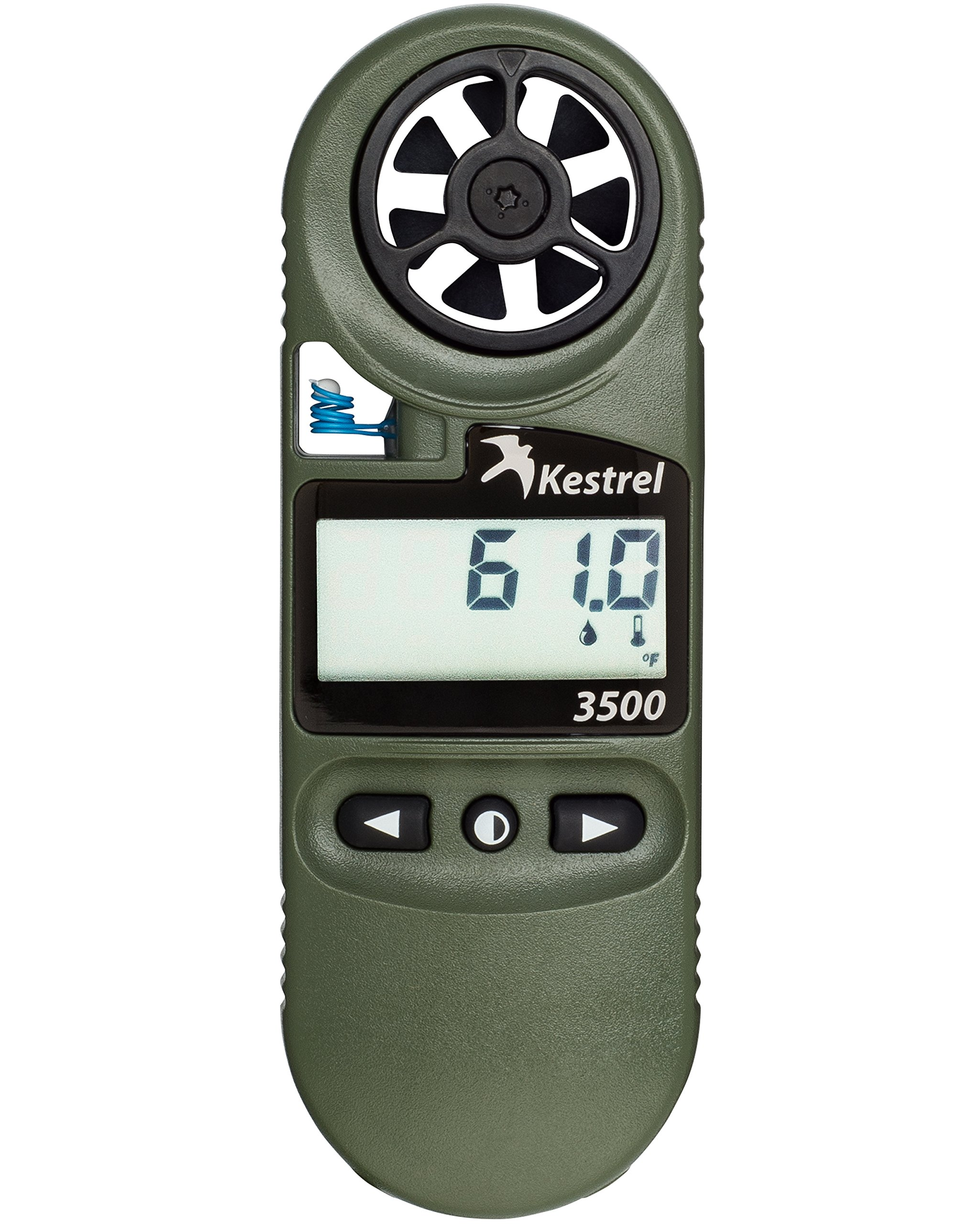 Kestrel 3500 Pocket Weather Meter with Night Vision, Olive Drab by Kestrel