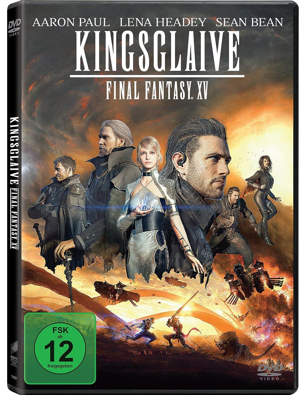 Kingsglaive: Final Fantasy XV [DVD]: Amazon.es: Aaron Paul, Lena ...