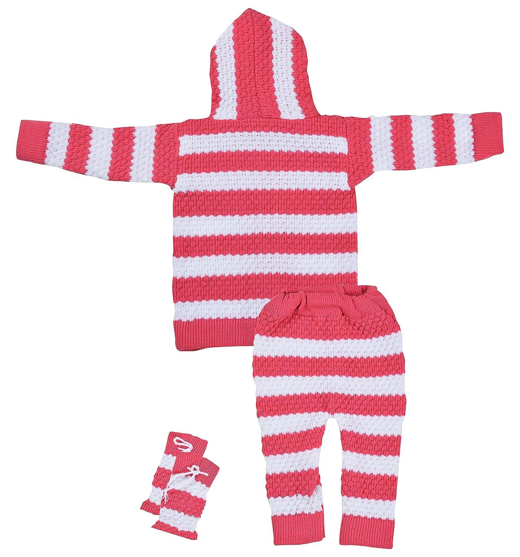 9a6c2bc9a Kuchipoo Baby Girls  Regular Fit Clothing Set (KUC-GHR-112 Pink ...
