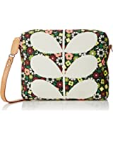 Orla Kiely Flower Bloom Canvas Small Cross Body